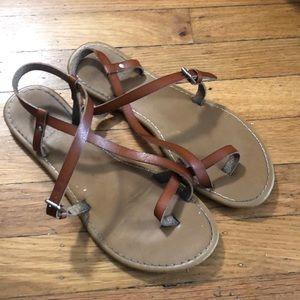 Shoes - Minimalist Boho Strappy Sandals